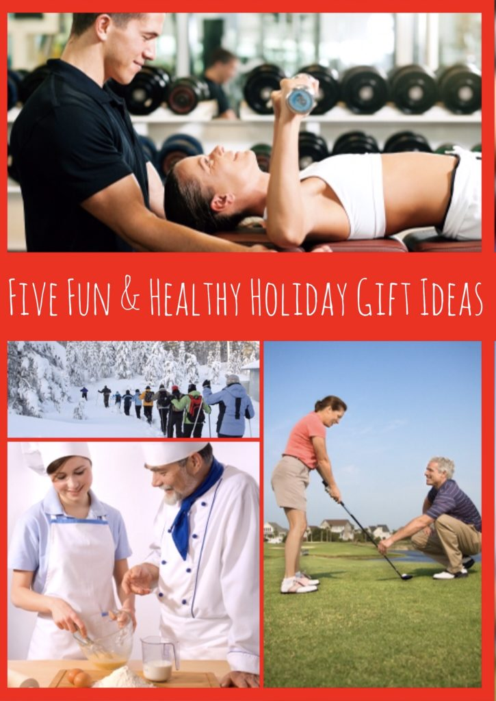 Holiday guift guide and ideas for adventure, nutrition and fitness lovers