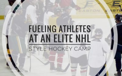 Fueling Athletes At An Elite NHL Style Hockey Camp