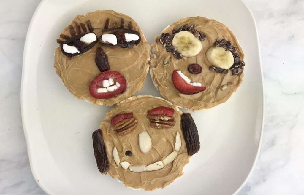 Easy and Healthy Snacks to Make Woth Kids - Nut Butter Love Sandwiches