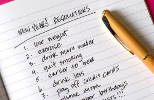 Resolutions that will not stick