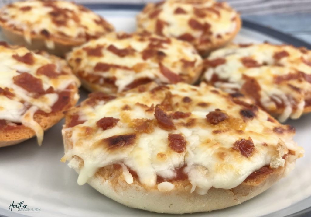 Easy and Delicious Bagel Pizza Bites