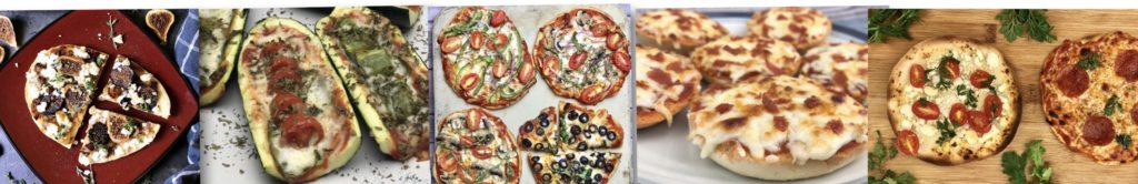 The next time you crave pizza, think outside the pizza box and try one of these five delicious and healthier homemade pizza options instead