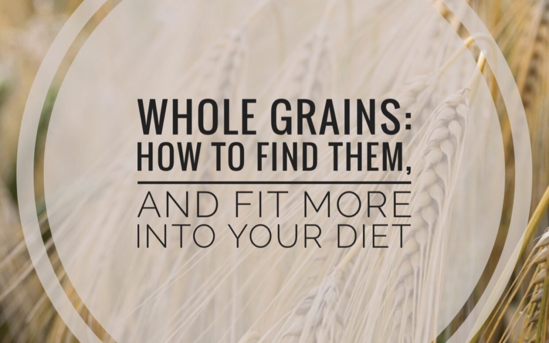 Not all grains are whole grains. This post teaches you how to identify and eat more whole grains each day with these tips and simple swaps