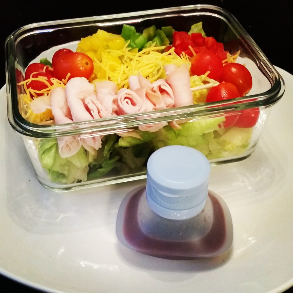 mini Salad Dressing Containers