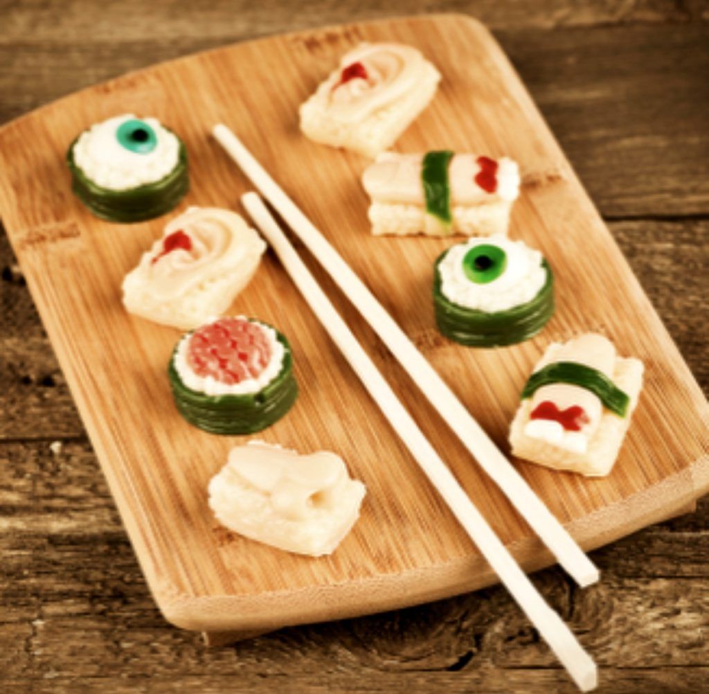 Halloween Themed Sushi