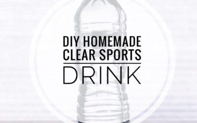 DIY Homemade Sports Drink