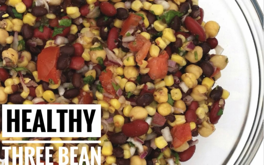 Protein-Packed Three Bean Salad