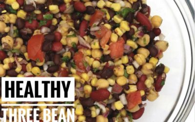 Low Sugar, Protein-Packed Three Bean Salad