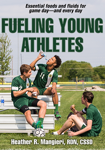 Fueling Young Athletes is a comprehensive guide to fueling young athletes, written by author and sports dietitian Heather Mangieri. This book has everything you need to fuel a winner.