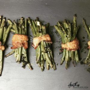 How to Make green bean bacon bundles- the recipe, calories and nutrition facts