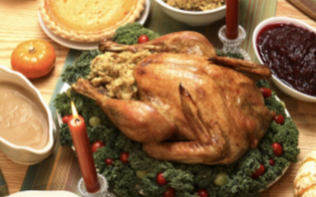 This Thanksgiving, Count Blessings Not Calories