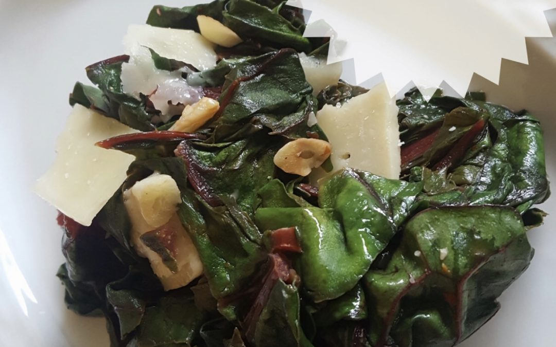A Healthy Vitamin enriched recipe for Swiss Chard
