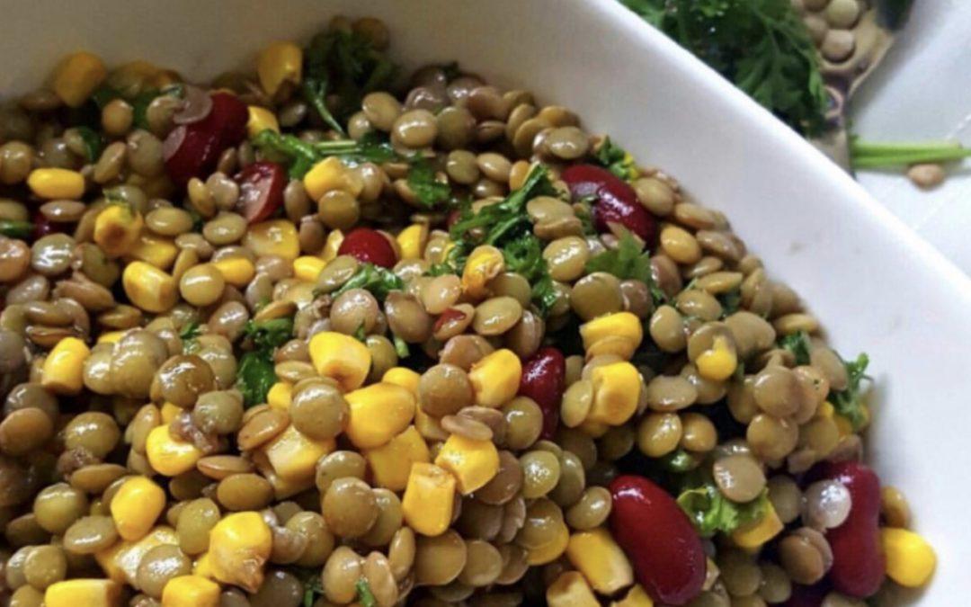 Basic Lentil Salad