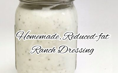 Homemade, Lower-Calorie Ranch Dressing