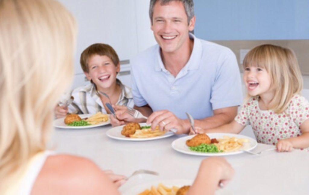 Sharing meals as a family comes with big benefits for kids and teens, but traditional meal times are hard to make happen. Think outside the box when it comes to eating as a family, like sharing breakfast, taking food to the ballfields or having a picnic.