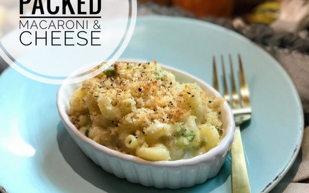 Protein-Packed Macaroni and Cheese