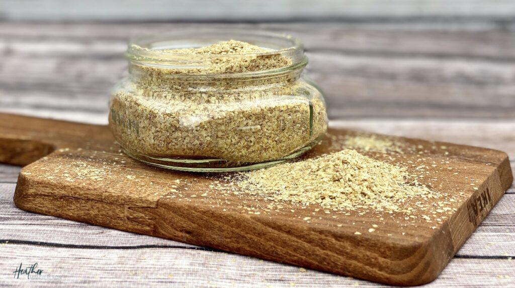 Wheat Germ Flakes- a blog post about what it is, the nutritional benefits and how to eat it
