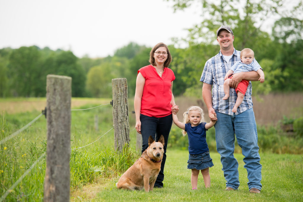 The Claytons from Kenny Family Farm