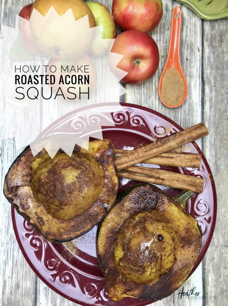 Recipe to make roasted acorn squash