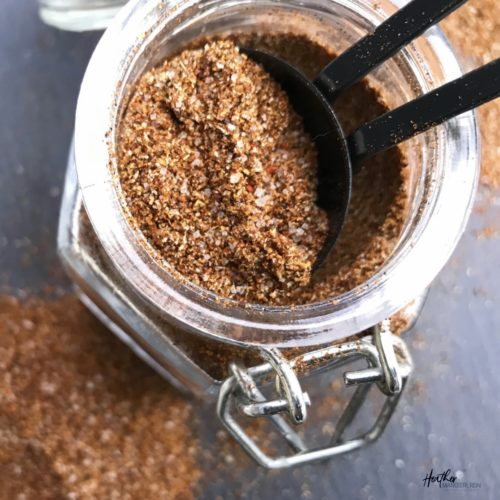 Make homemade Taco Seasoning