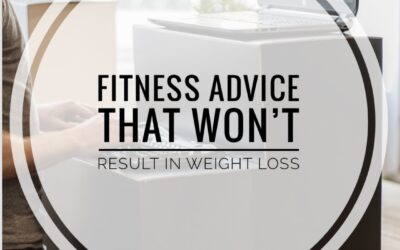 Fitness Advice That Won't Result in Weight Loss