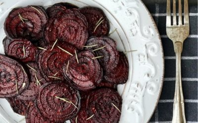 Sliced Roasted Beets