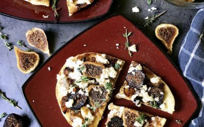 Fig, Caramelized Onion & Ricotta Flatbread