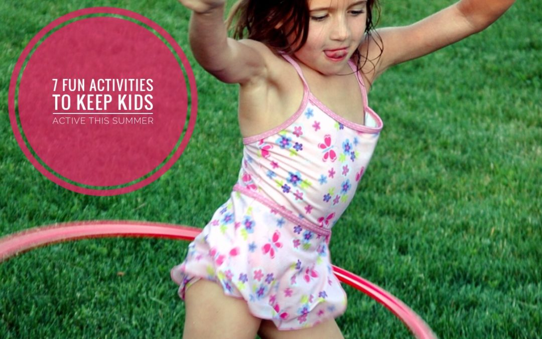 Kids need daily physical activity just as much as adults to support strength, health and happiness. Incorporate these ideas into your kids routine to keep them active all summer long