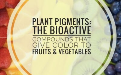 Plant Pigments – The Bioactive Compounds That Give Color To Fruits And Vegetables