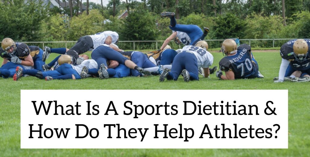 Sports Dietitians - What they are, what they do and how to find the best one for you