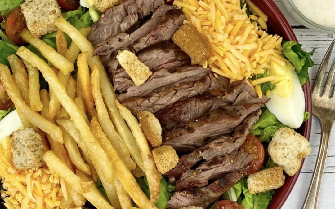 Pittsburgh-Style Steak Salad