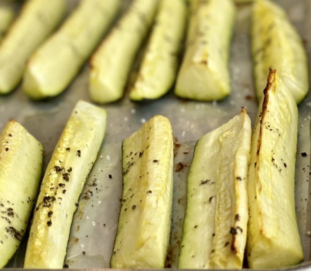 Oven roasted zucchini recipe