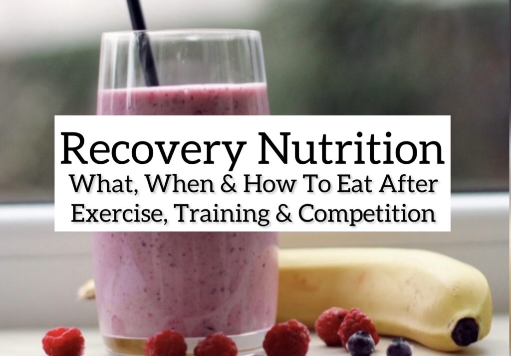 Recovery nutrition is an important part of an athlete's sports nutrition plan, but what and how much food you eat matters. Here's everything you need to know about eating after exercise.